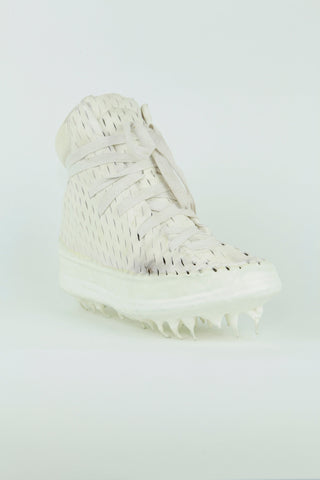 O.D. One piece laceable dripped sneakers