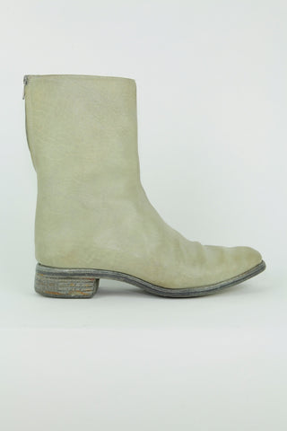 O.D. lined diagonal zip good year boot