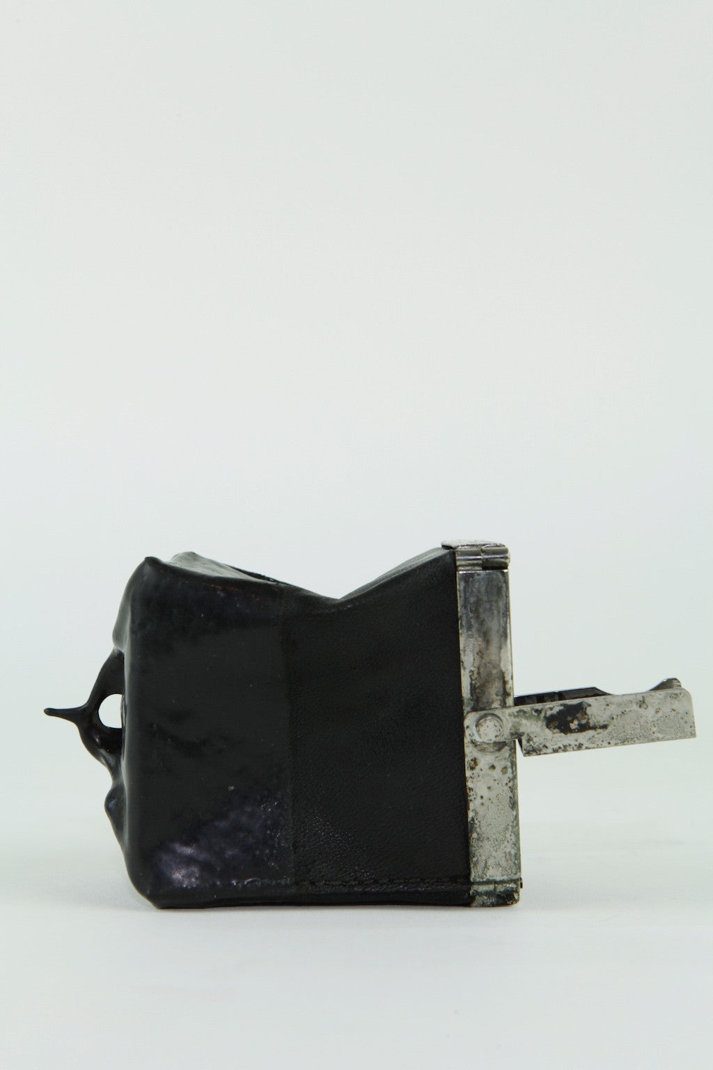 over dyed rubbered multi-dim purse