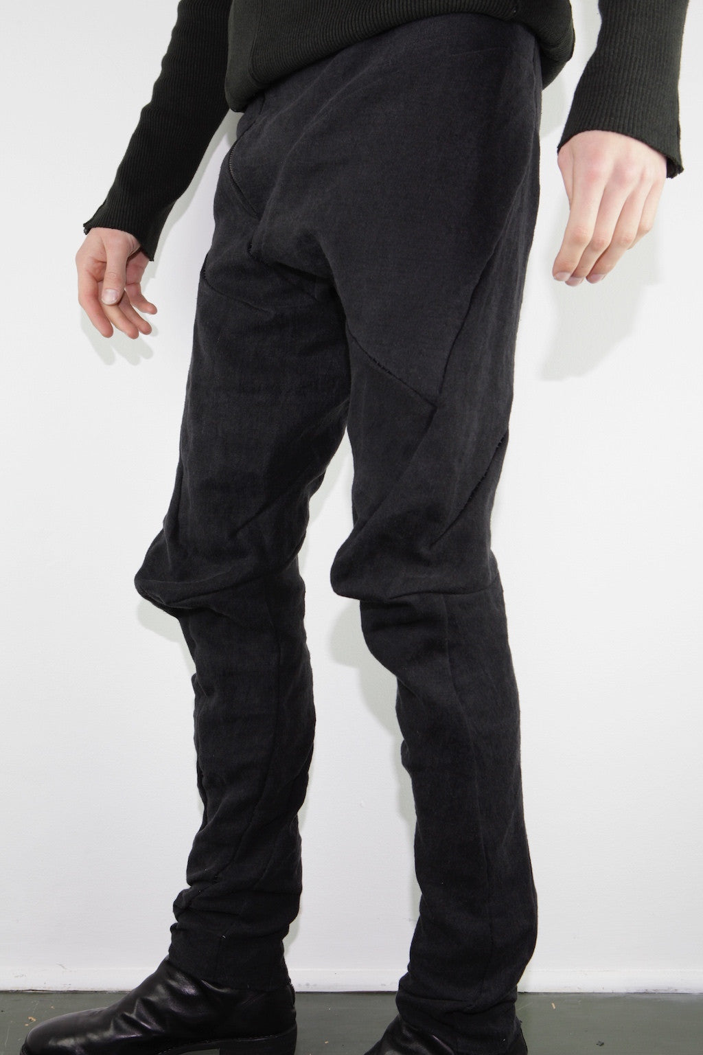 distortion fitted long trouser