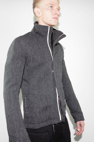 high neck jacket