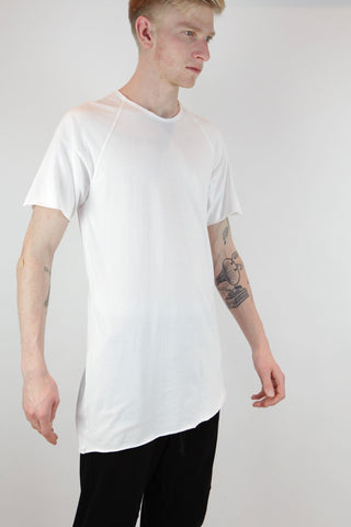 taped raglan t shirt