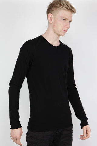 raglan cross sweater