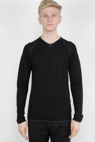 zip seam sweater