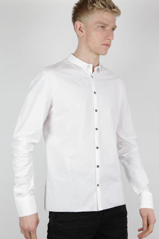 frayed button holes shirt