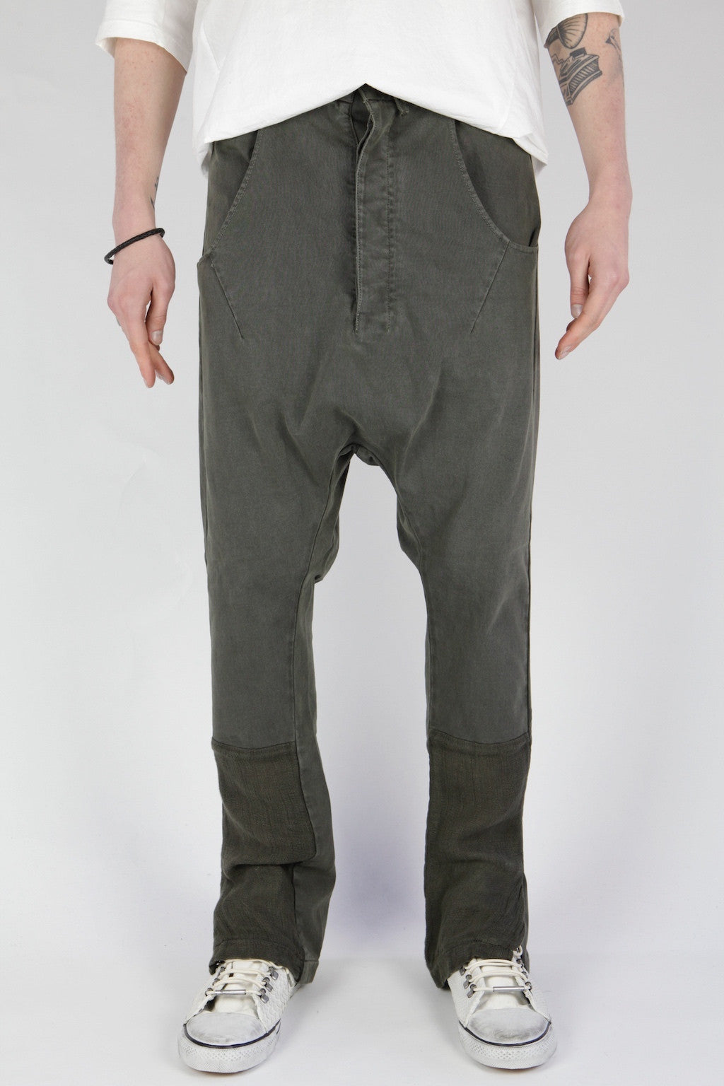 Drop Crotch Trouser