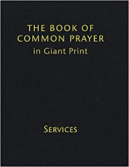 1662 Book of Common Prayer, Giant Print