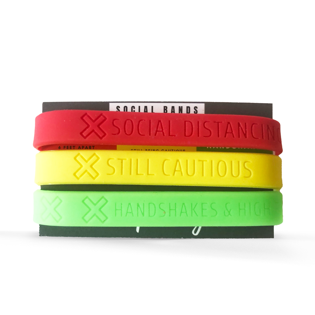 Social Bands 3 Pack