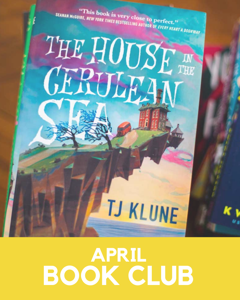 April 2021 Book Club Member Goodies