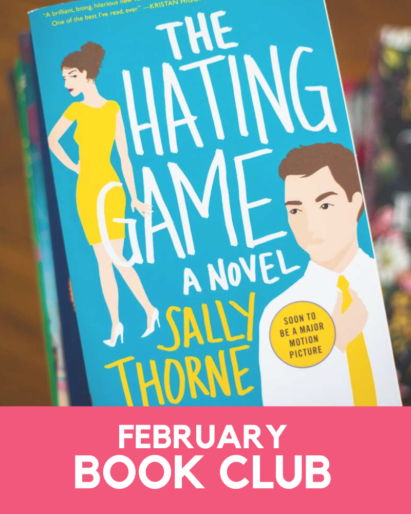 February 2021 Book Club Member Goodies
