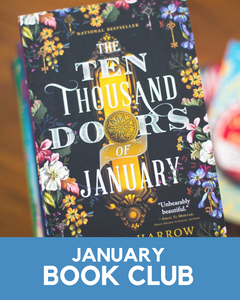 January 2021 Book Club Member Goodies