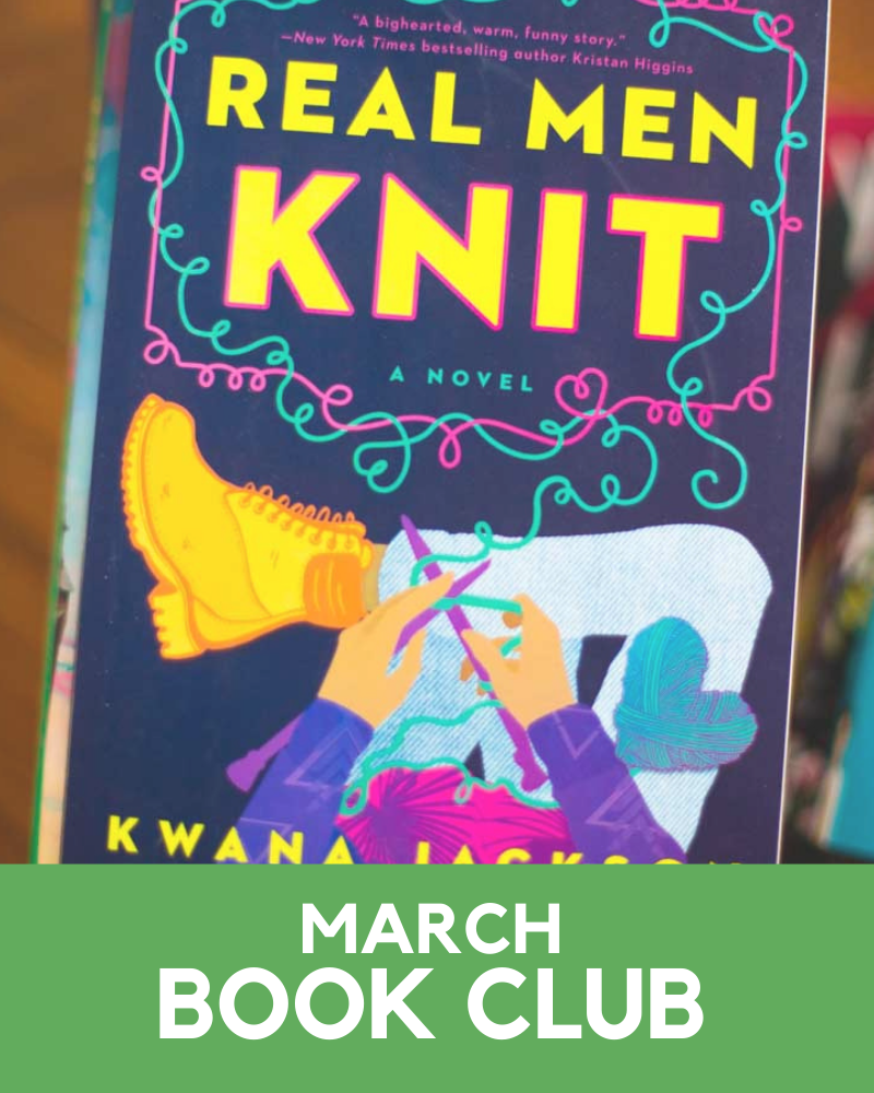 March 2021 Book Club Member Goodies