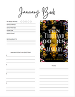 Load image into Gallery viewer, Official 2021 Peanut Blossom Book Club Journal