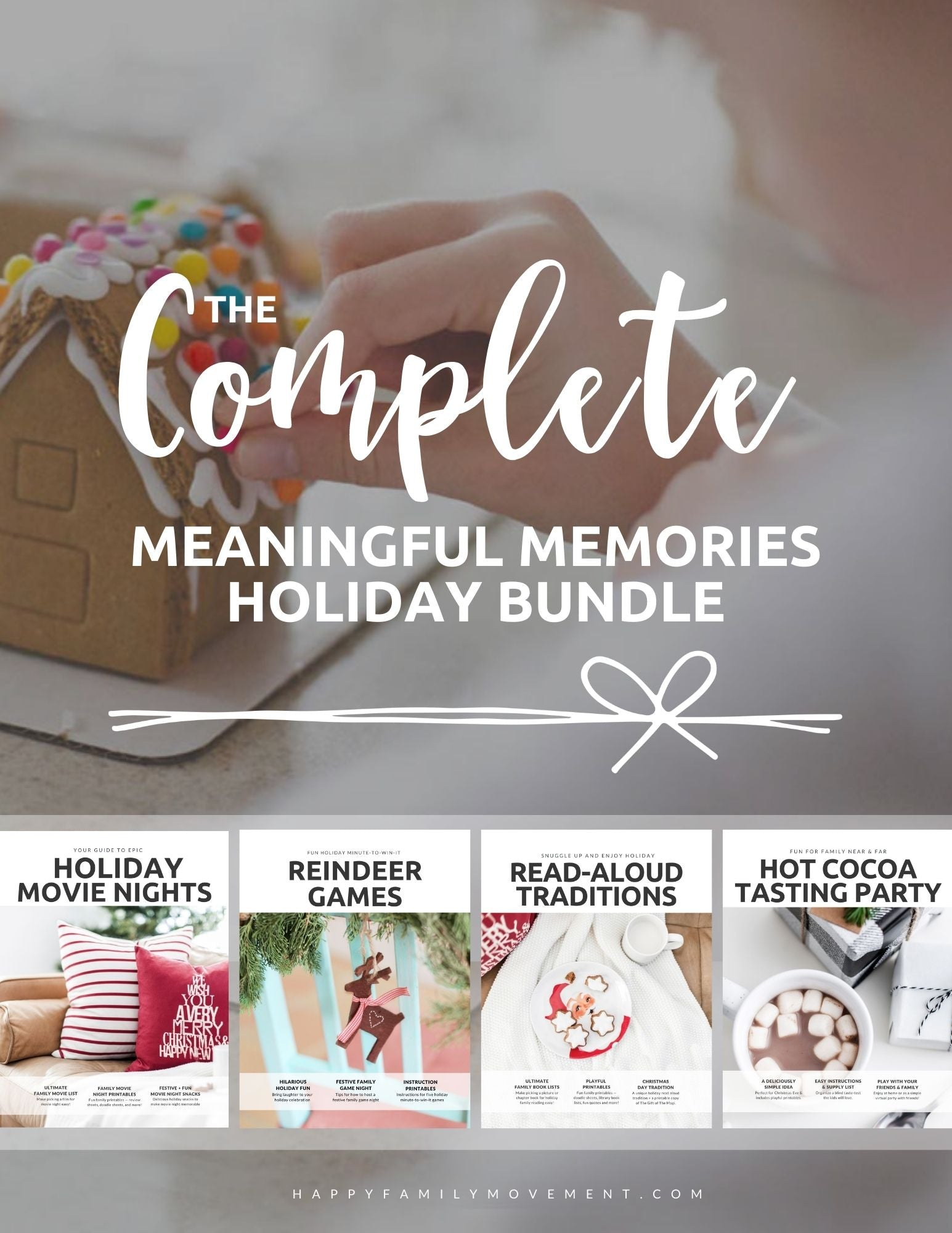 Meaningful Memories — A Christmas activities bundle for families