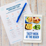 Load image into Gallery viewer, Family Beach Trip Meal Plan & Cookbook