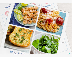 Family Beach Trip Meal Plan & Cookbook