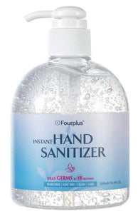 70% Alcohol Gel Hand Sanitizer 500ML WITH PUMP