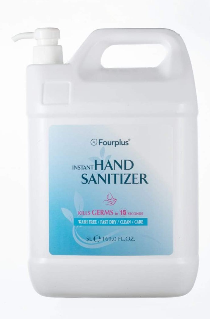 70% Alcohol Gel Hand Sanitizer 5 Litres WITH PUMP