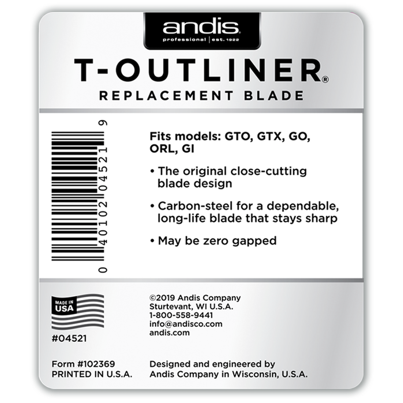 T-Outliner® Replacement Blade - Carbon Steel