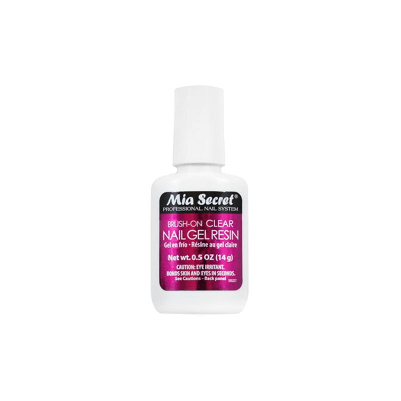Brush On Clear Nail Gel Resin
