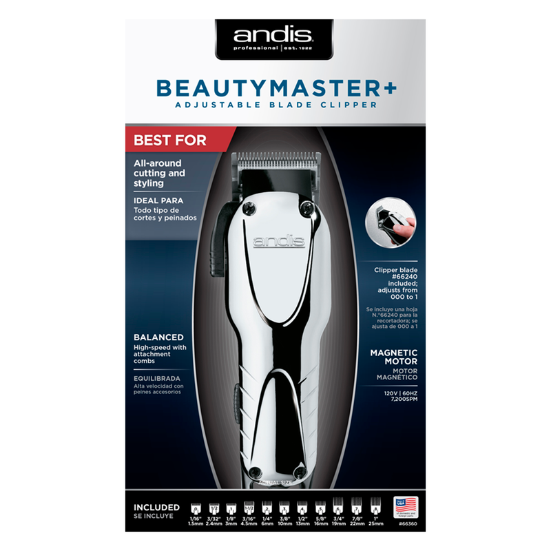 Beauty Master+ Adjustable Blade Clipper