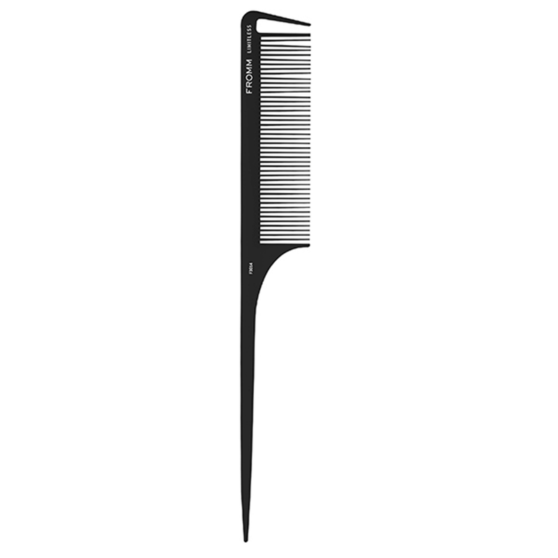 "Limitless 9.25"" Carbon Rat Tail Comb"