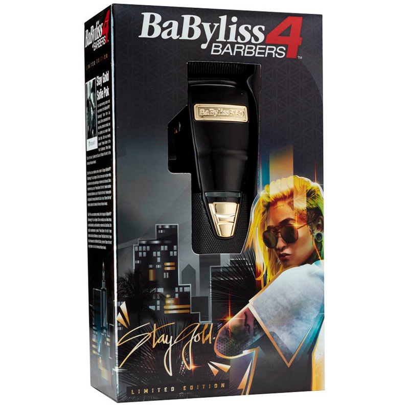 BaBylissPRO® BLACK FX Cordless Clipper Limited Edition Sofie Pok