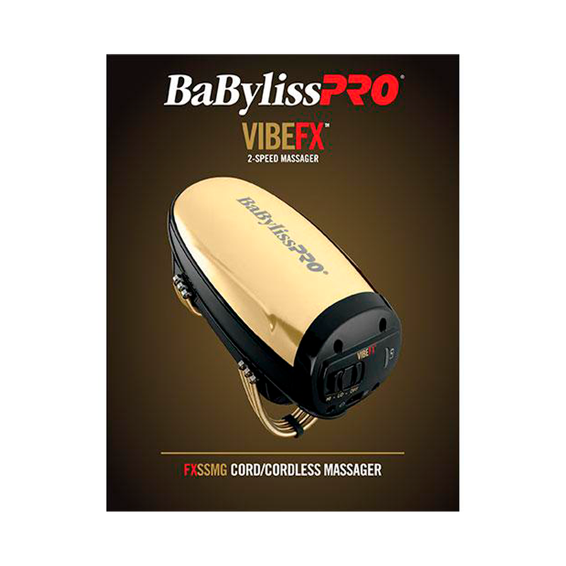Babyliss Cord/Cordless Massager - Gold