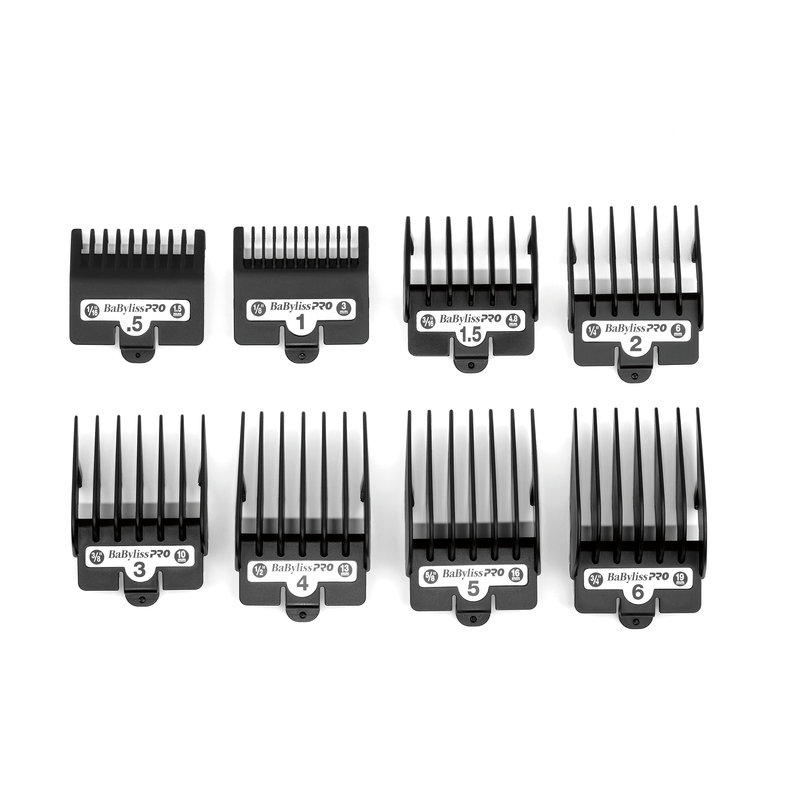 Babyliss Pro By Forfex Attachment 8 Pcs Comb Set Fits All 880 Models, Fx870G, Fx870Rg, Fx650, Fx673