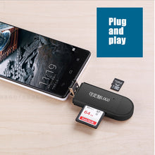 Load image into Gallery viewer, Type C & micro USB & USB 3 In 1 OTG Card Reader High-speed USB2.0 Universal OTG TF/SD
