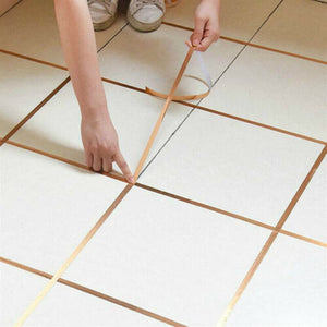 Self-adhesive Ceramics Tile Mildewproof Tape Decorative Corner  Side Edges Strip