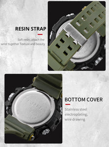 【🔥New Trending】Mens Watch Military Water resistant Sport watch Army led Digital wrist Stopwatches for male