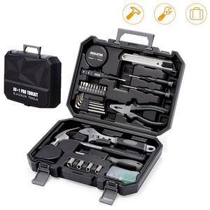 【🌟 5-Star Reviews 】XIAOMI JIUXUN 12/60Pcs Hand Tool Set General Household Repair Hand Tool Kit With Toolbox