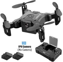 Load image into Gallery viewer, 【🔥 New Arrival 】Mini 3 Drone With/Without HD Camera High Hold Mode Foldable RC Quadcopter RTF WiFi FPV