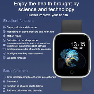 【🥉No. 3 Bestseller 】Smart Watch T80/P70 For Android and iOS Phone IP67 Waterproof, Fitness Tracker Watch with Heart Rate Monitor, Smart Watch for Men Women