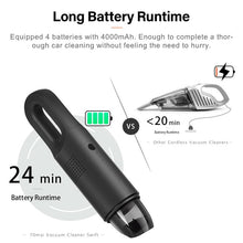 Load image into Gallery viewer, 70mai Vacuum Cleaner Swift, Portable Handheld Cordless Car Vacuum HEPA Filter, Ultra Lightweight 24 Minute 5Kpa 65db Low Noise, Car/Home/Office