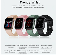 Load image into Gallery viewer, 【🌟 5-Star Reviews】M2 Fitness Smart Watch, 15 days battery life, 1.8-inch display 4 Color, IP68 Waterproof Smartwatch