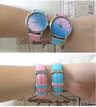 Load image into Gallery viewer, 【🔥New Trending】Retro Rainbow Design Fabulous Pretty Jelly Quartz Wrist Watch Women Colorful Lady Wristwatch Women