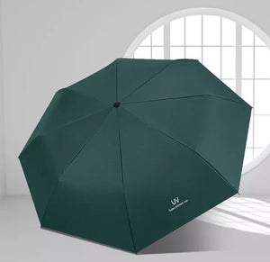 Folding Automatic Umbrella Rain Wind Resistant Windproof Umbrellas Rain For Men/Women Black Coating 10K Parasol