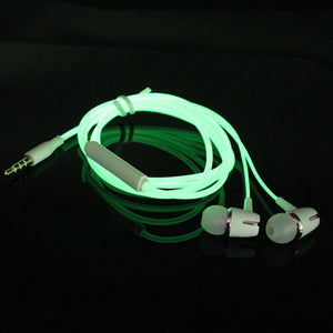 Luminous Headset 3.5mm Plug Glowing Earphone  for iPhone Huawei Xiaomi Pc