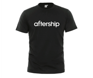 AfterShip Short Tee White/Black/Gray/Blue Crewneck Short-Sleeve Comfort Cotton Unisex Adult T-Shirt