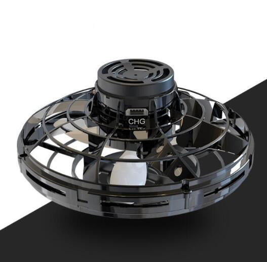 Flynova Athletic antistress hand mini flying toy Gyro rotator drone UFO led spinner Rotary