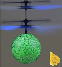 Load image into Gallery viewer, Flying Ball Luminous Kid's Flight Balls  Infrared Induction LED Mini Helicopter