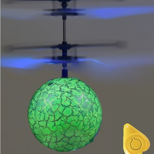 Flying Ball Luminous Kid's Flight Balls  Infrared Induction LED Mini Helicopter