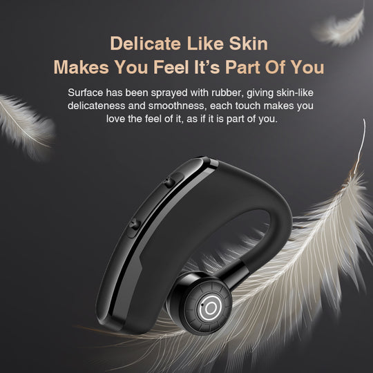 Wireless Bluetooth Earphone Handsfree Earbud With HD Microphone For iPhone Samsung Xiaomi