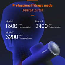 Load image into Gallery viewer, XIAOMI Meavon Smart Electric Massage Gun Double Mode Fascia Gun Deep Muscle Relaxation Wireless Charging Low Noise For Home Gym