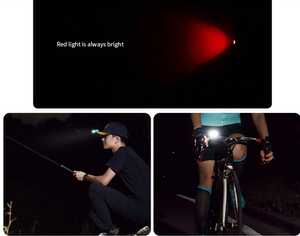【🔥 New Arrival 】Xiaomi Nextool Multifunctional Headlight COB 170Lumens Rotatable Bicycle Light Warning Lamp with Antibacterial Belt Outdoor Camping