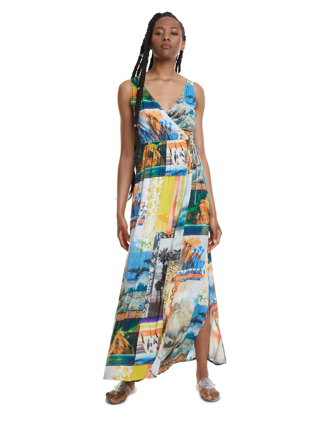 Desigual Hawai Maxi Dress