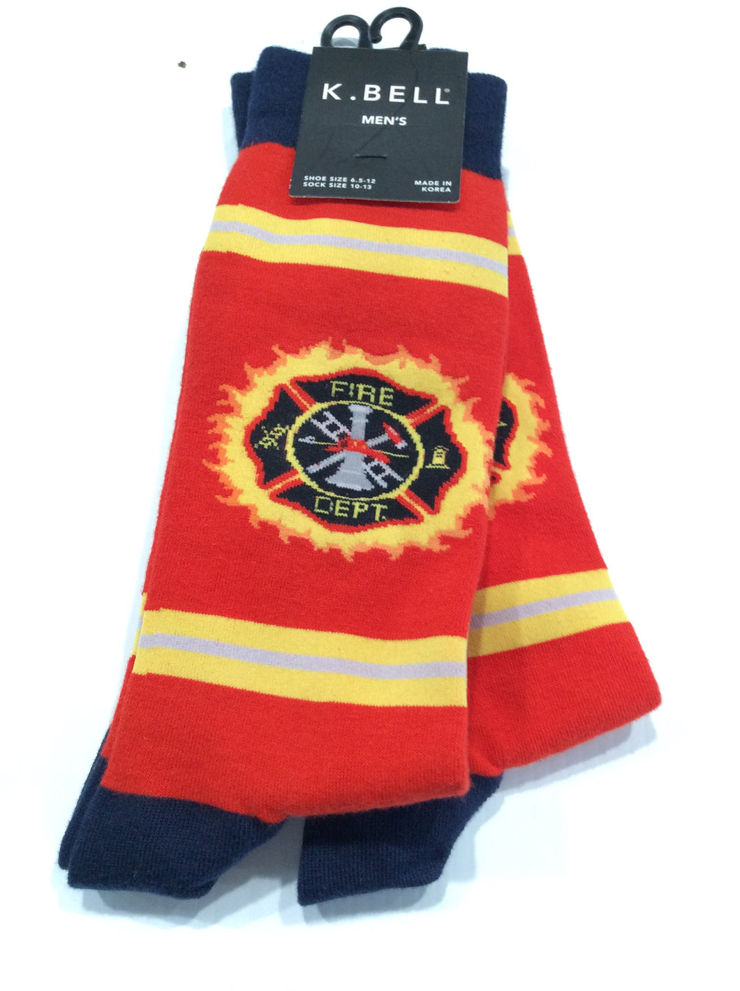 Men's Fire Department Socks