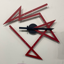 Load image into Gallery viewer, ALESSI Time Maxe Wall Clock Red